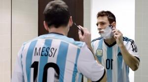 צילום של מסי מתגלח