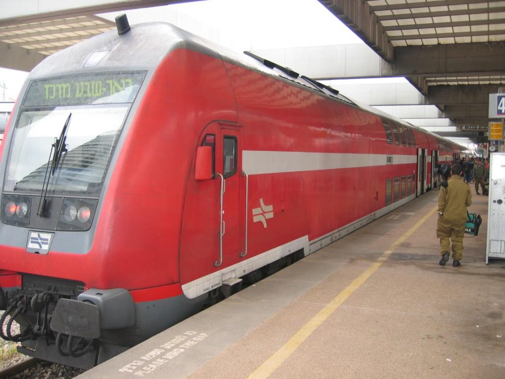 רכבת בתחנה