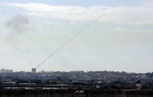 ירי טיל לישראל