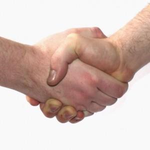 לחיצת ידיים