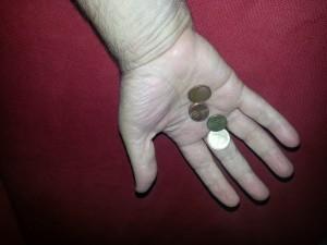 מטבעות ביד