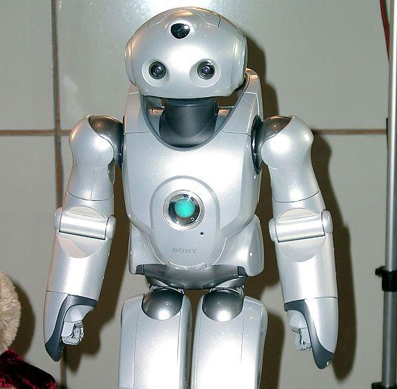 צילום של רובוט קטן