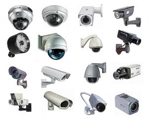 כל מיני מצלמות אבטחה