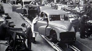 תמונת מפעל ליצור מכוניות