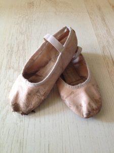 נעלי בלט ישנות
