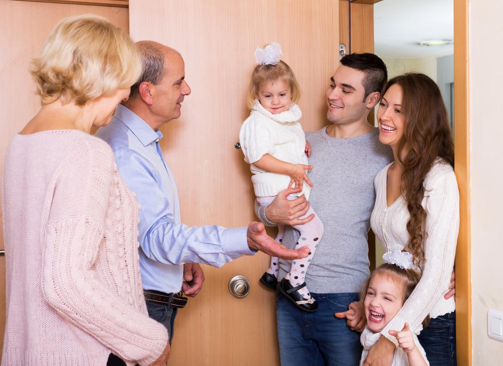 מפגש משפחתי 3 דורות