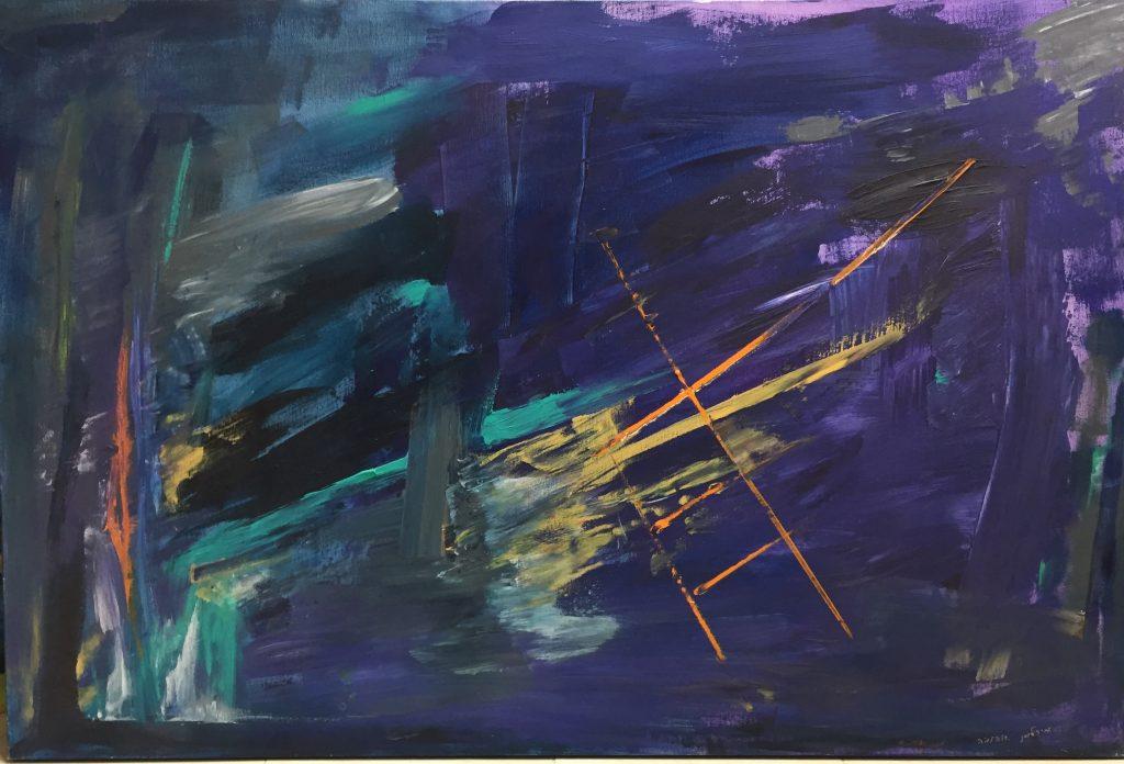 צילום של אחד הציורים