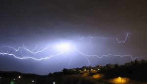 ברק בשמיים