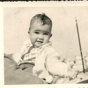 תמונה של חביבה בהיותה תינוקת