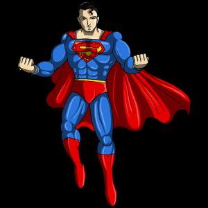 ציור של סופרמן