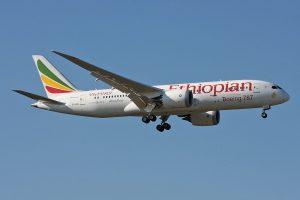 מטוס של אתיופיאן איירליינס