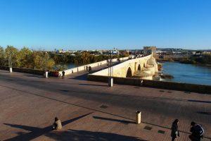 צילום הנהר והגשר מעליו