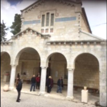 תמונה של חזית הכנסייה