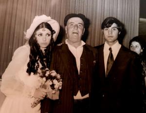 תמונה מן החתונה המשפחתית