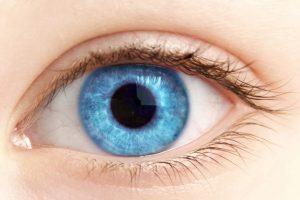 צילום עין כחולה