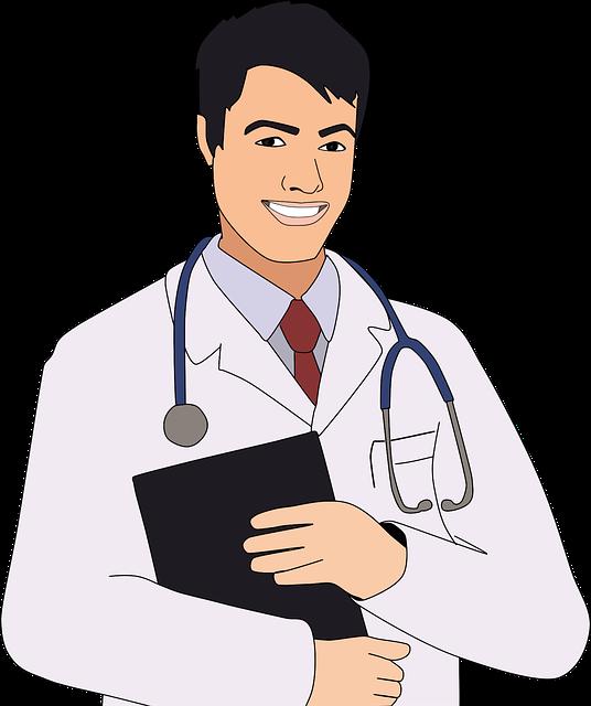 רופא עם ציוד